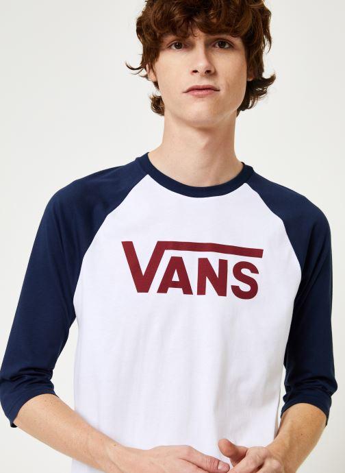 Vêtements Vans Vans Classic Raglan Blanc vue face