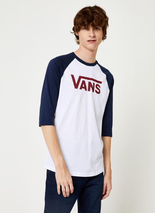 Vêtements Vans Vans Classic Raglan Blanc vue détail/paire
