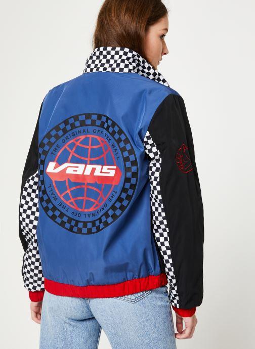 Vêtements Vans BMX Jacket Multicolore vue portées chaussures
