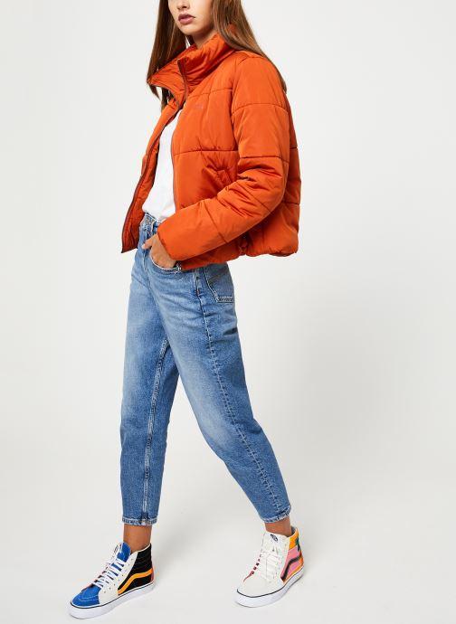 Vêtements Vans Foundry Puffer Jacket Orange vue bas / vue portée sac