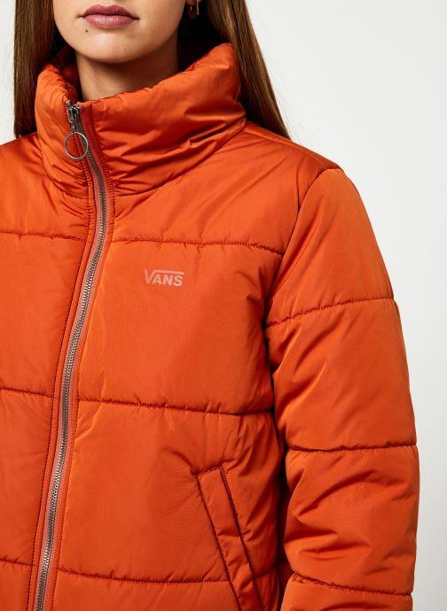 Vêtements Vans Foundry Puffer Jacket Orange vue face