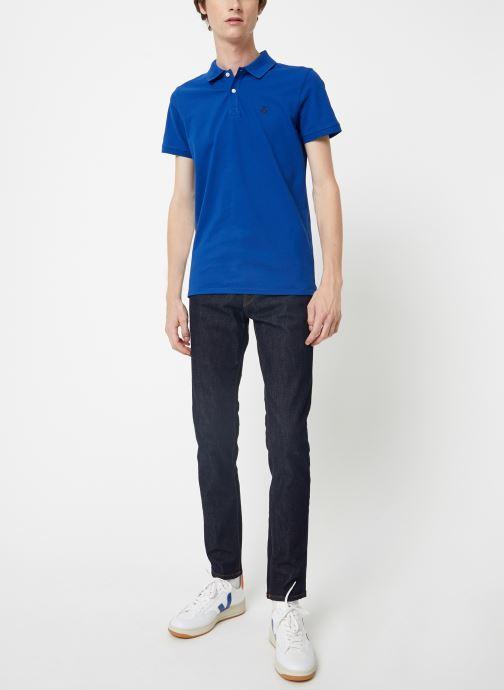 Vêtements Selected Homme Slhslim-Leon 1002 Pants Bleu vue bas / vue portée sac