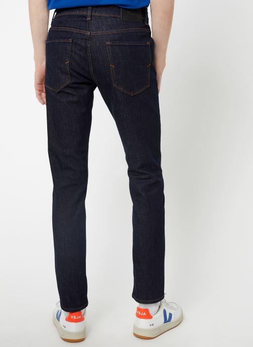 Vêtements Selected Homme Slhslim-Leon 1002 Pants Bleu vue portées chaussures