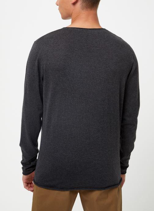 Kleding Selected Homme Slhdome Knit Grijs model