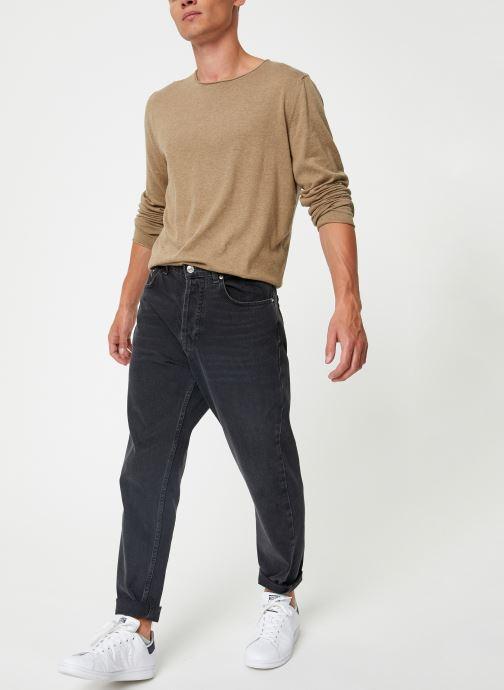 Vêtements Selected Homme Slhdome Knit Vert vue bas / vue portée sac