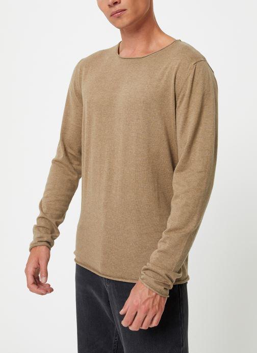 Vêtements Selected Homme Slhdome Knit Vert vue détail/paire