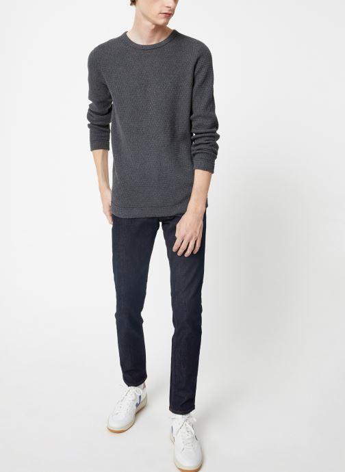 Vêtements Selected Homme Slhvictor Knit Gris vue bas / vue portée sac