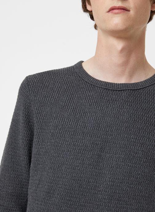 Vêtements Selected Homme Slhvictor Knit Gris vue face