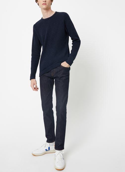 Vêtements Selected Homme Slhvictor Knit Bleu vue bas / vue portée sac