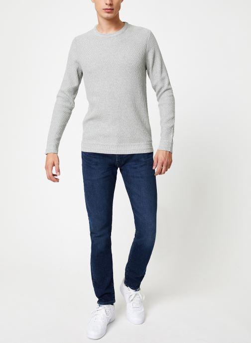 Vêtements Selected Homme Slholiver Knit Gris vue bas / vue portée sac