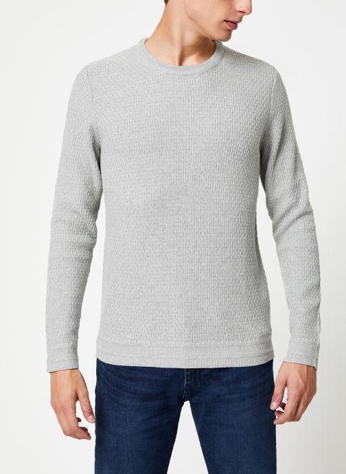 Vêtements Selected Homme Slholiver Knit Gris vue droite