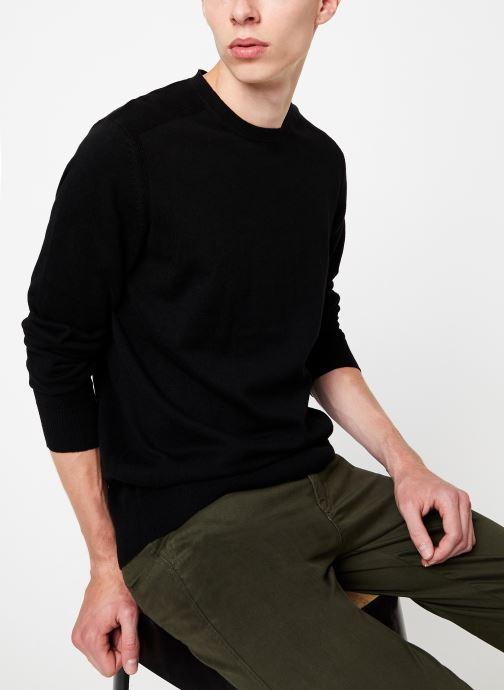 Vêtements Selected Homme Slhdaniel Knit Noir vue détail/paire