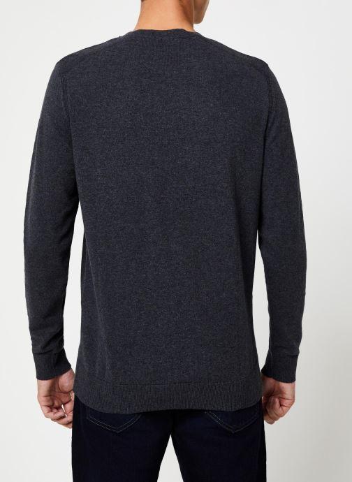Kleding Selected Homme Slhdaniel Knit Grijs model