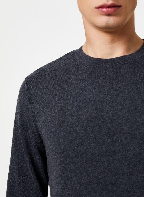 Vêtements Selected Homme Slhdaniel Knit Gris vue face