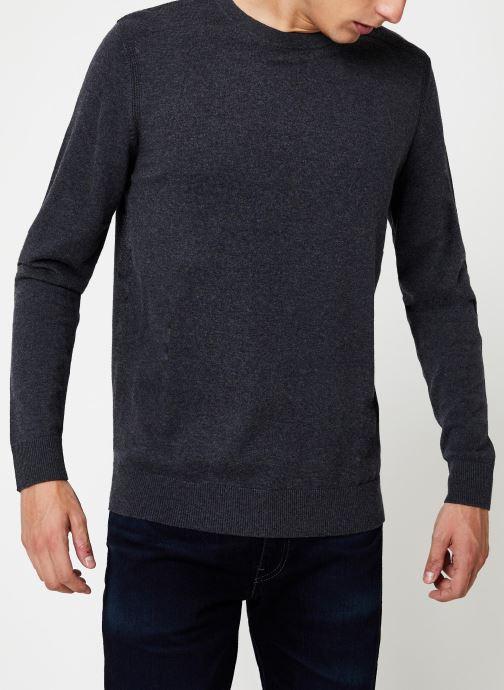 Vêtements Selected Homme Slhdaniel Knit Gris vue détail/paire