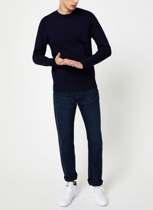 Vêtements Selected Homme Slhdaniel Knit Bleu vue bas / vue portée sac