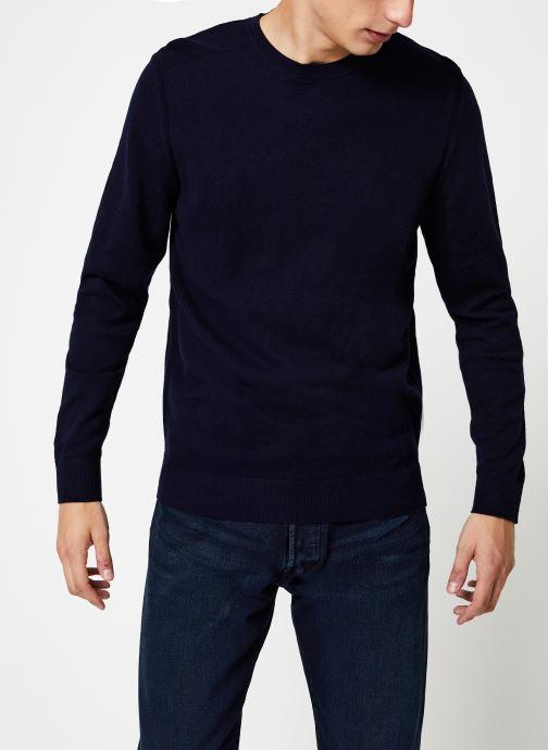 Vêtements Selected Homme Slhdaniel Knit Bleu vue détail/paire