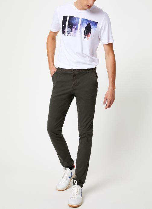Vêtements Selected Homme Slhskinny-Luca Pants Noir vue bas / vue portée sac