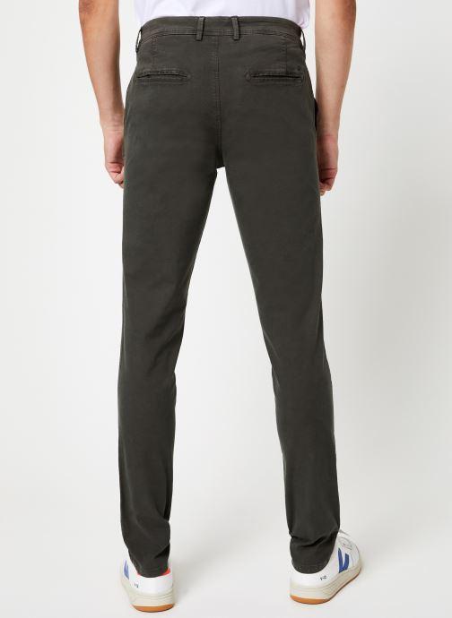 Vêtements Selected Homme Slhskinny-Luca Pants Noir vue portées chaussures
