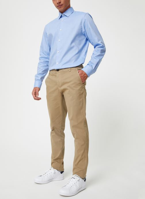 Vêtements Selected Homme Slhskinny-Luca Pants Beige vue bas / vue portée sac