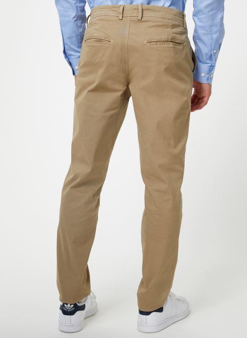 Vêtements Selected Homme Slhskinny-Luca Pants Beige vue portées chaussures