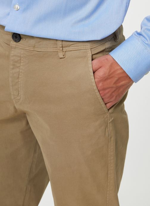 Vêtements Selected Homme Slhskinny-Luca Pants Beige vue face