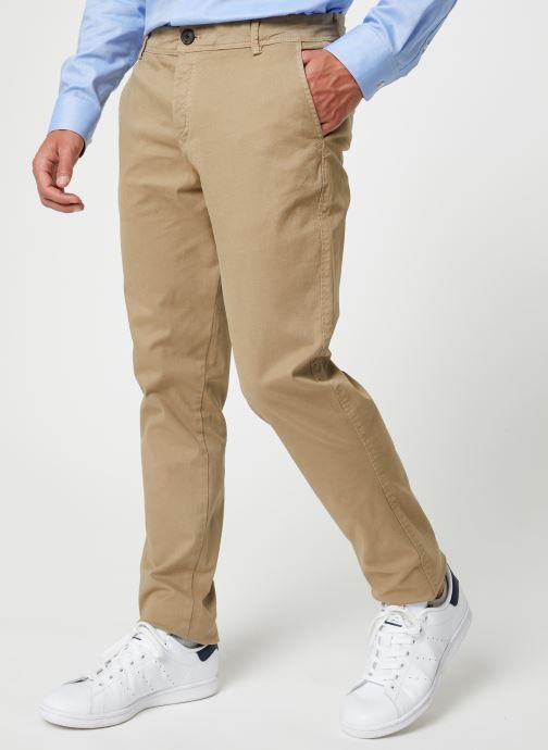 Vêtements Selected Homme Slhskinny-Luca Pants Beige vue détail/paire