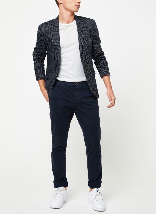Vêtements Selected Homme Slhskinny-Luca Pants Bleu vue bas / vue portée sac