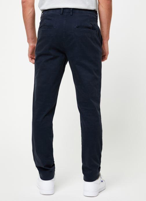 Vêtements Selected Homme Slhskinny-Luca Pants Bleu vue portées chaussures
