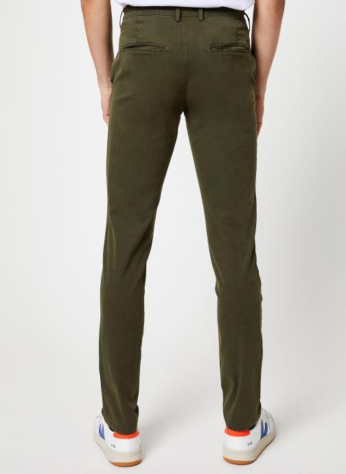 Vêtements Selected Homme Slhskinny-Luca Pants Vert vue portées chaussures