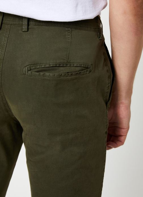 Vêtements Selected Homme Slhskinny-Luca Pants Vert vue face