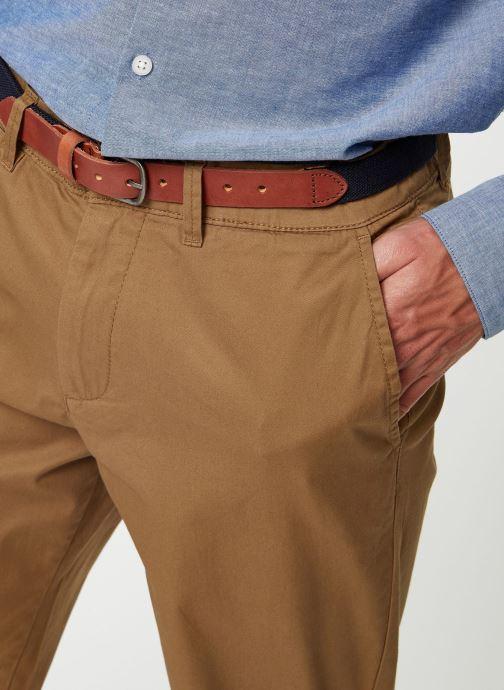 Vêtements Selected Homme Slhslim-Yard Pants Marron vue face