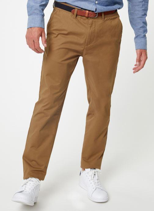 Vêtements Selected Homme Slhslim-Yard Pants Marron vue détail/paire