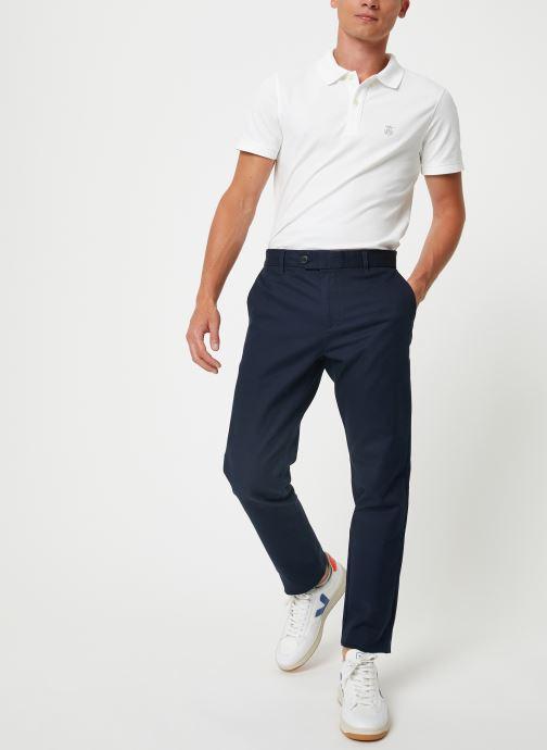 Vêtements Selected Homme Slhslim-Carlo Pants Bleu vue bas / vue portée sac