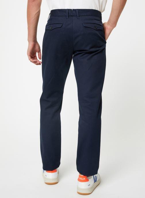 Vêtements Selected Homme Slhslim-Carlo Pants Bleu vue portées chaussures
