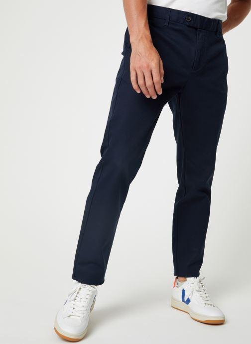 Vêtements Selected Homme Slhslim-Carlo Pants Bleu vue détail/paire