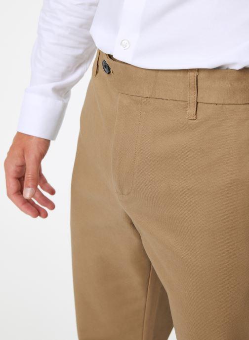 Vêtements Selected Homme Slhslim-Carlo Pants Vert vue face