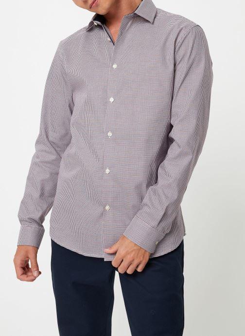 Vêtements Selected Homme Slhslimnew-Mark Shirt Multicolore vue détail/paire