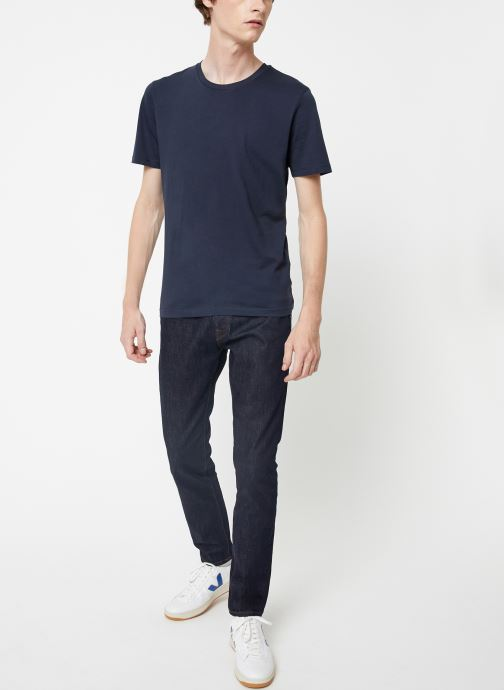 Vêtements Selected Homme Slhtheperfect Tee Bleu vue bas / vue portée sac