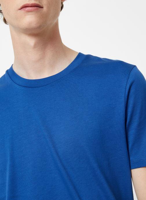 Vêtements Selected Homme Slhtheperfect Tee Bleu vue face