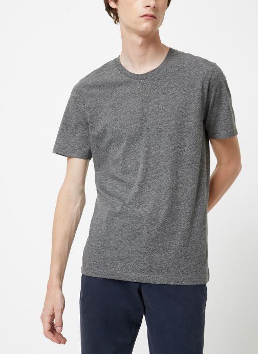 Vêtements Selected Homme Slhtheperfect Mel Tee Noir vue détail/paire