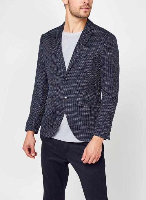 Vêtements Selected Homme Slhslim-Make Blazer Bleu vue droite