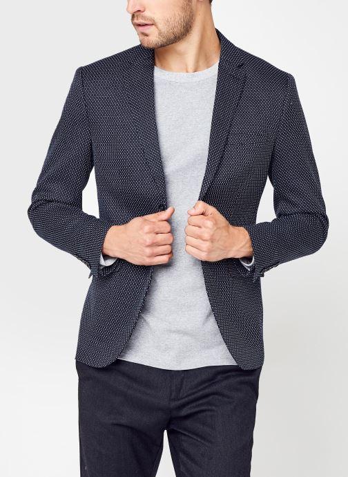 Vêtements Selected Homme Slhslim-Make Blazer Bleu vue détail/paire