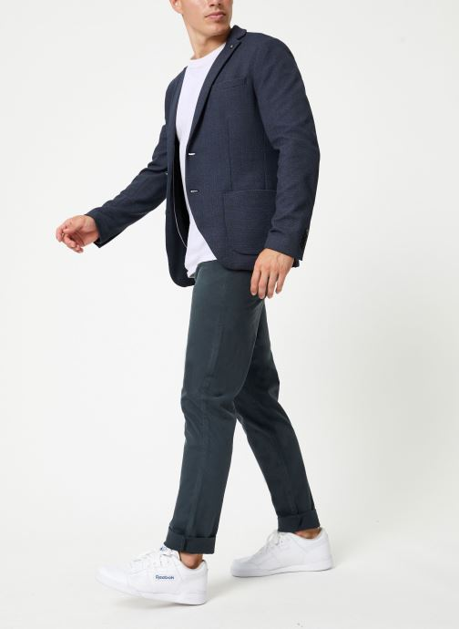 Vêtements Selected Homme Slhslim-Hiken Blazer Bleu vue bas / vue portée sac
