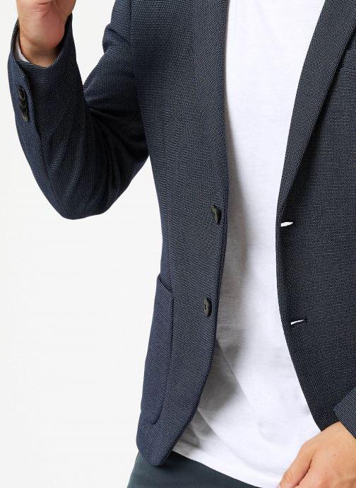 Vêtements Selected Homme Slhslim-Hiken Blazer Bleu vue face