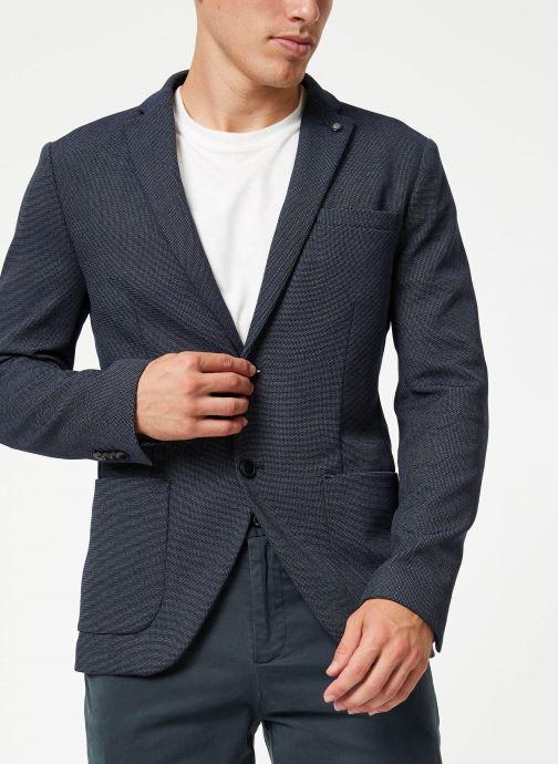 Kleding Selected Homme Slhslim-Hiken Blazer Blauw detail