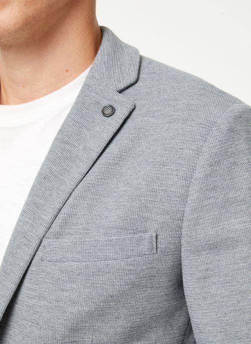Vêtements Selected Homme Slhslim-Hiken Blazer Gris vue face