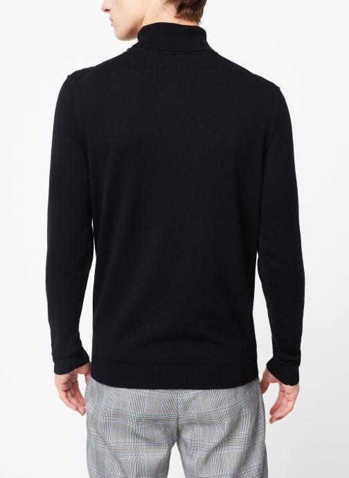 Kleding Selected Homme Slhtower Roll Neck Knit Zwart model