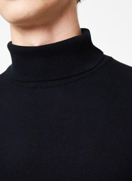 Kleding Selected Homme Slhtower Roll Neck Knit Zwart voorkant