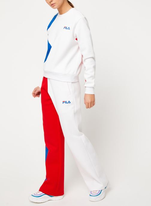 Vêtements FILA Sayuri Blanc vue bas / vue portée sac